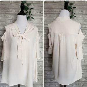 4 for $25 cold shoulder blouse